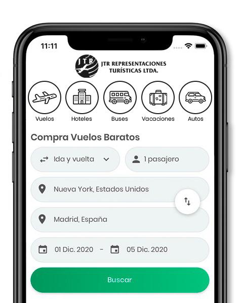 App JTR Aviatur